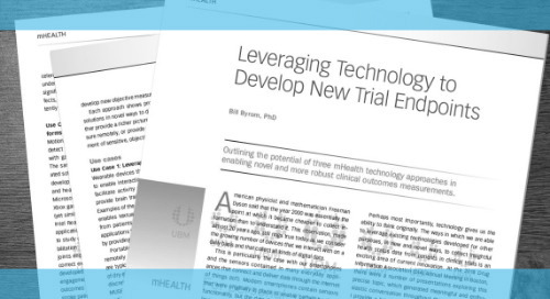 Leveraging Technology to Develop New Trial Endpoints