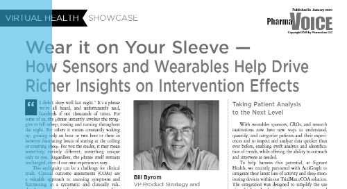 Wear it on Your Sleeve — How Sensors and Wearables Help Drive Richer Insights on Intervention Effects