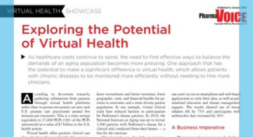 PharmaVoice -  Leveraging Virtual Technology to Improve Processes