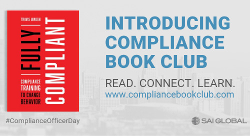 Welcome to the Compliance Book Club
