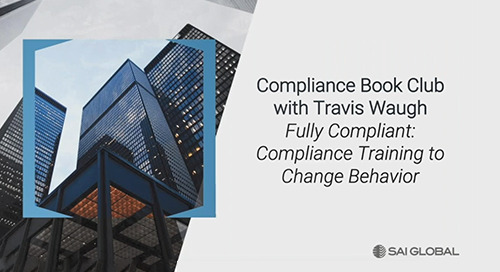 Compliance Book Club with Travis Waugh, Author