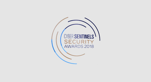 SAI Global Named Top Vendor in GDPR Solution and Services at Cyber Sentinels Security Award 2018