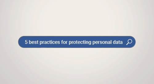 5 Best Practices for Protecting Personal Data