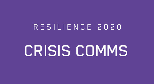 No Business Continuity Program is Complete Without an Effective Crisis Communications Plan