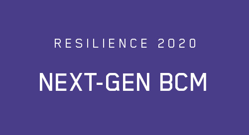 Next-Gen BCM: The Convergence of Risk and Continuity
