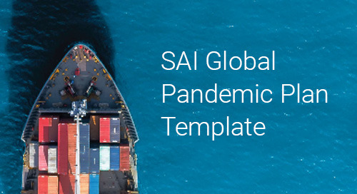 Free SAI Global Pandemic Plan Template