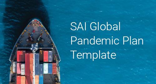 Free SAI Global Pandemic Plan Template