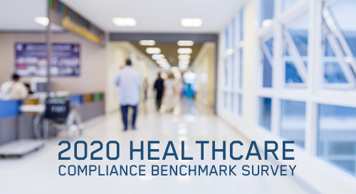 Download the 2020 Healthcare Compliance Benchmark Report