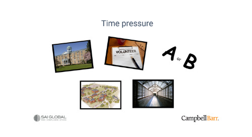 New Toolkit for Ethics & Compliance Teams: Time Pressures