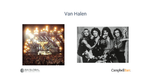 New Toolkit for Ethics & Compliance Teams: Van Halen and M&Ms