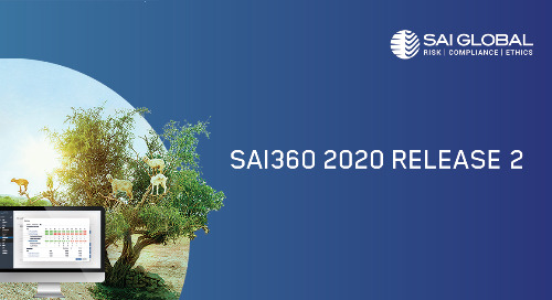 SAI360 Software Release Helps Prepare for the New Normal in a COVID-19 Economy
