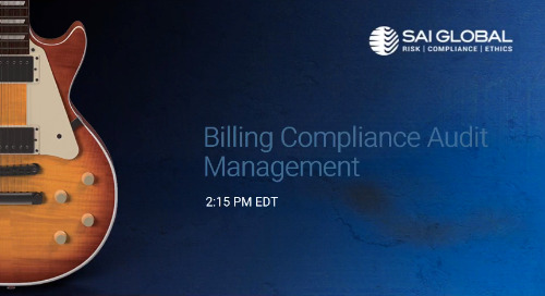 SAI360 for Healthcare Compliance Demo: Billing Compliance Audit Management