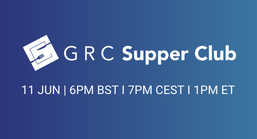 GRC Supper Club: Does the Path to Greater Resilience Require a Combination of Increased Regulatory Compliance & Trusted Technology?