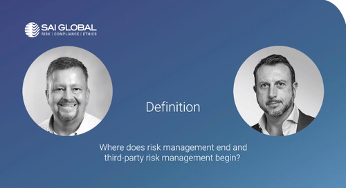Securing Third-Party Risk During COVID-19, with Michael Rasmussen and Paul Johns
