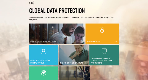 Preview SAI Global's GDPR and Data Privacy Courses