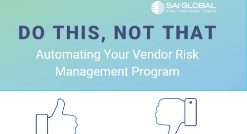 Do This, Not That: A Guide to Automating Your Vendor Risk Management Program