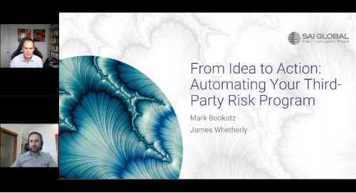 From Ideas to Action: Automating Your Third-Party Risk Program
