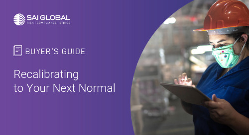 Buyer's Guide to Workplace Health & Safety Tech: Recalibrating to Your Next Normal