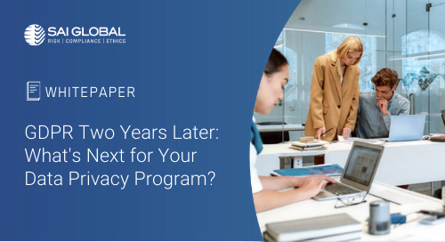 GDPR Two Years Later: What's Next for your Data Privacy Programme?