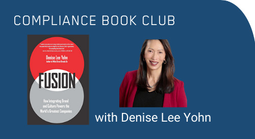 Compliance Book Club: Fireside Chat with Denise Lee Yohn, Author of Fusion