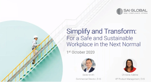 Simplify and Transform: For a Safe and Sustainable Workplace in the Next Normal