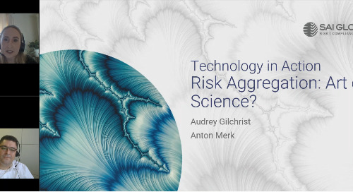 Tech in Action: Risk Aggregation – Art or Science, with Anton Merk and Audrey Gilchrist