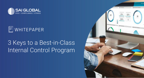 3 Keys to a Best-in-Class Internal Control Program