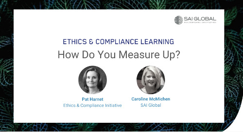 How Does Your Ethics & Compliance Program Measure Up?