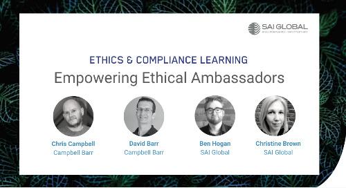Empowering Ethical Ambassadors: Leading at Every Level
