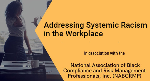 Addressing Systemic Racism in the Workplace