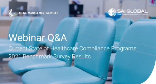 2021 Healthcare Compliance Benchmark Report: Q&A with Richard Kusserow