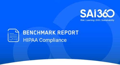 2020 HIPAA Compliance Benchmark Survey