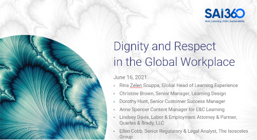 Dignity and Respect in the Global Workplace