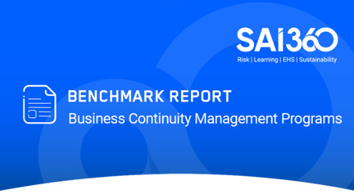2020 Benchmark Report: Business Continuity Programs Address the Covid-19 Gap
