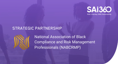 SAI360 and NABCRMP Launch Ground-breaking Systemic Racism Training Course