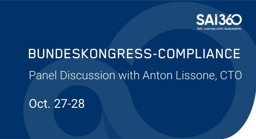 SAI360 at Bundeskongress Compliance