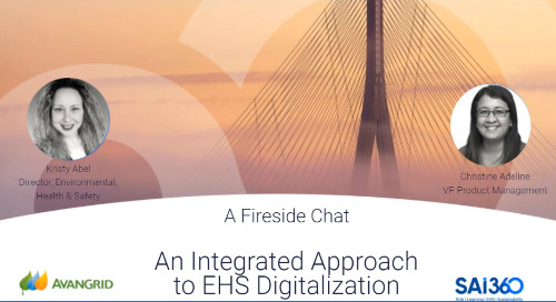 An Integrated Approach to EHS Digitalization with Avangrid Renewables