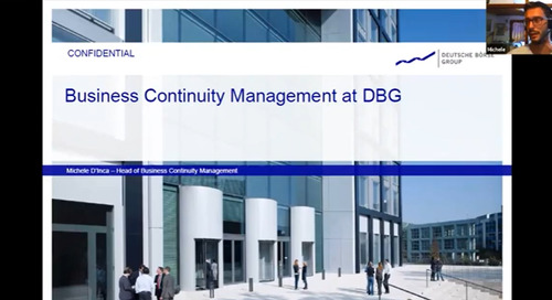 How the German Stock Exchange Deutsche Börse Manages Business Continuity with SAI360