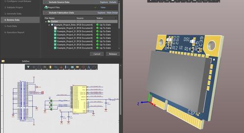 Управление выпуском проектов в системе проектирования печатных плат