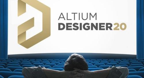 Первый взгляд на Altium Designer 20