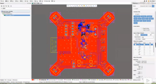 2019/06/22 - 2层简易四轴飞行器之PCB设计拼版及生产资料整理