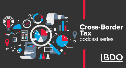 Cross-Border Tax Podcast series