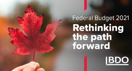 Canada's 2021 Federal Budget Webinar