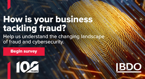 How is your business tackling fraud?
