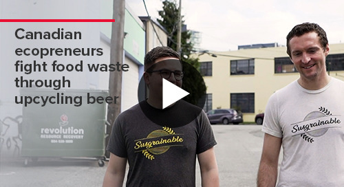 Canadian ecopreneurs fight food waste through upcycling beer I BDO Canada