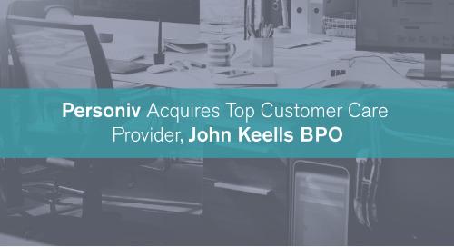 BPO Leader, Personiv, Acquires Top Customer Care Provider, John Keells BPO