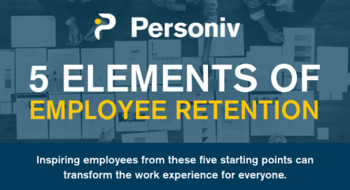 [Infographic] Top 5 Elements of Employee Retention