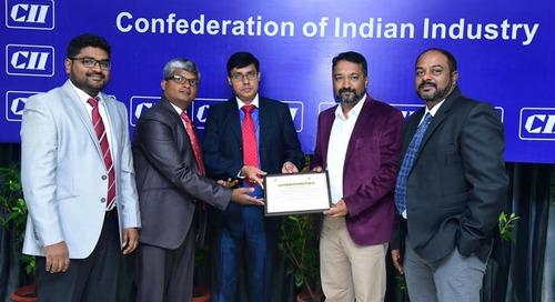Coimbatore Wins CII Award