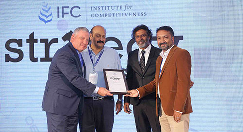 Personiv Coimbatore Awarded Strategy Award from The Institute for Competitiveness