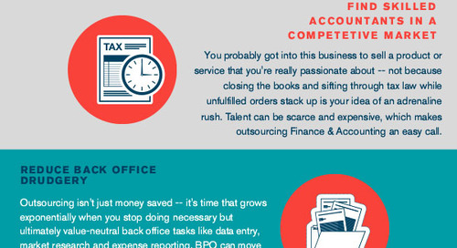 [Infographic] 4 Ways eCommerce Merchants Can Use Outsourcing To Win